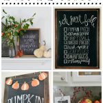 Fall Chalkboard Inspiration
