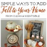 Simple Fall Decor Inspiration