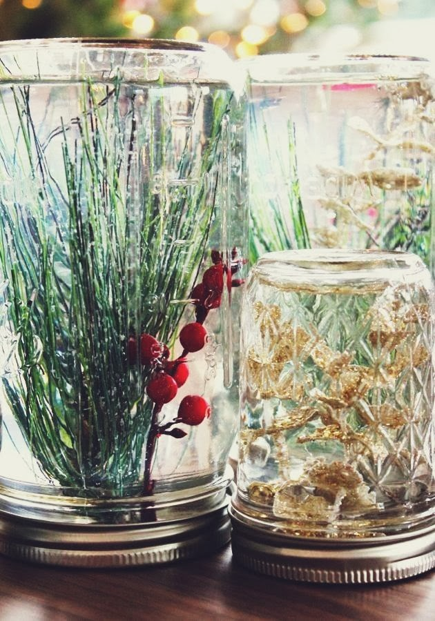 simple mason jar christmas decorations quick easy and inexpensive