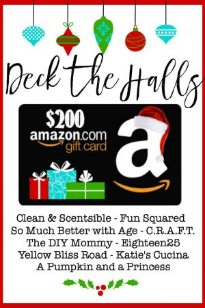 Deck the Halls $200 Amazon Gift Card Giveaway