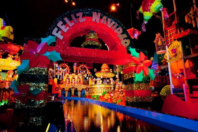 It's a Small World Holiday. 10 Magical Things to See at Disneyland at Christmas.