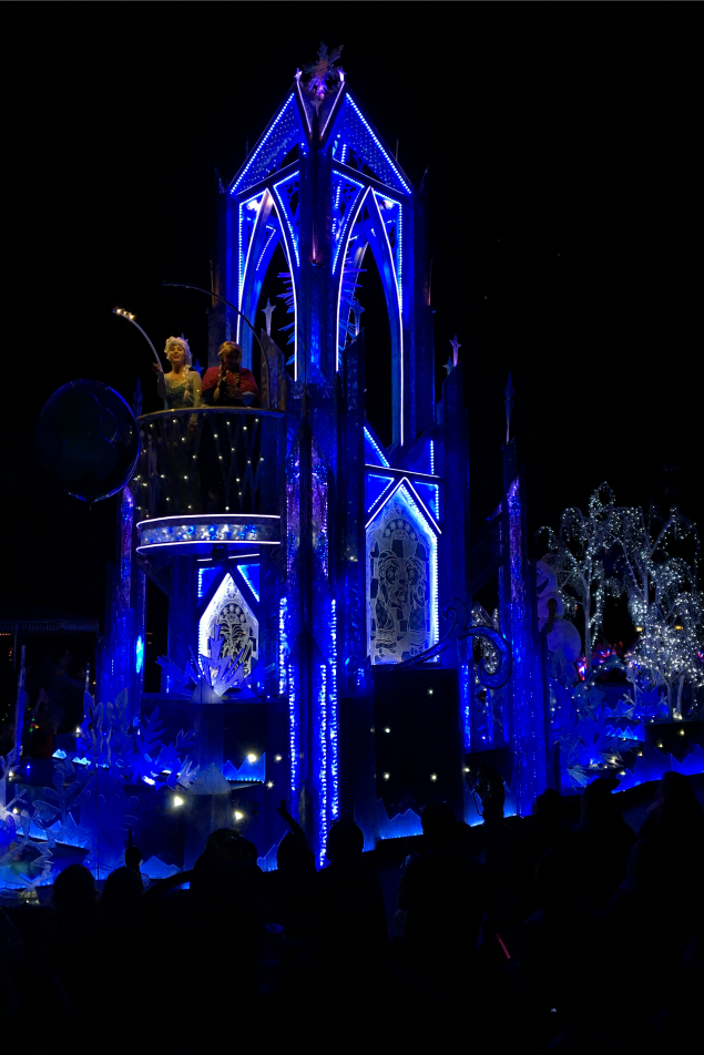 Disney Paint the Night. 10 Magical Things to see at Disney this Christmas.