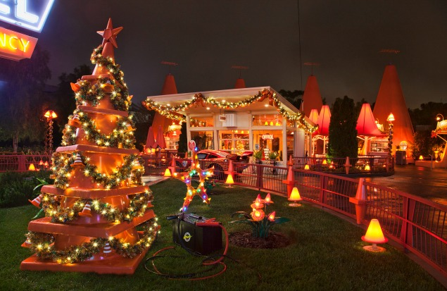 Cars Land. The Top 10 Things to Do at Disneyland during Christmas.