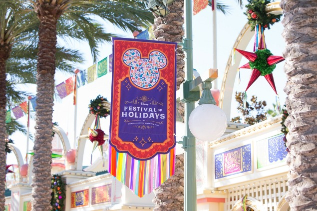 Disneyland California Adventure - 10 must see things at Christmastime. Festival of Holidays.