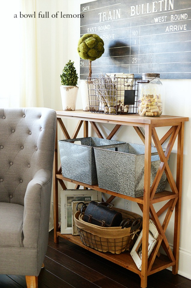 Great ideas to help you organize your family room!