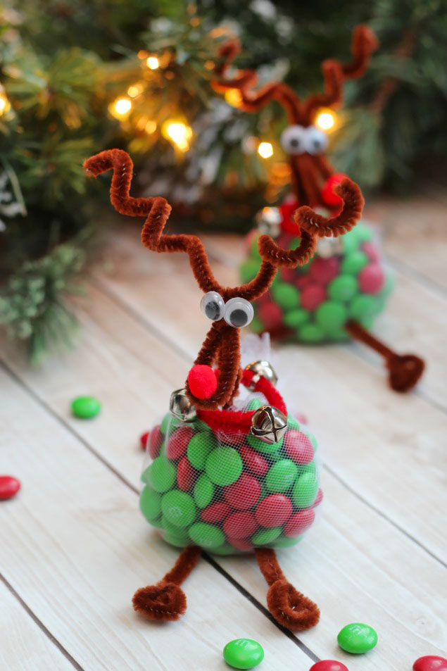 Reindeer treats christmas craft clean and scentsible for Easy crafts for christmas presents