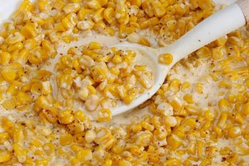 Slow Cooker Creamy Corn Side Dish
