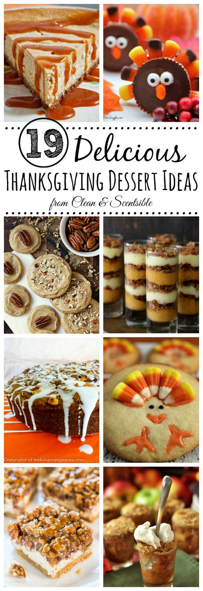 Delicious Thanksgiving dessert ideas.