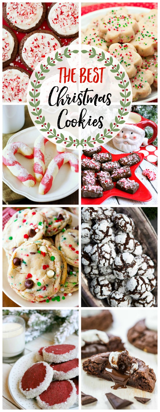 Collection of the best Christmas cookie recipes.