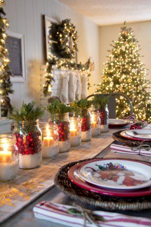 Mason Jar Christmas Decorating Ideas