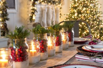 Mason Jar Christmas Decorating Ideas