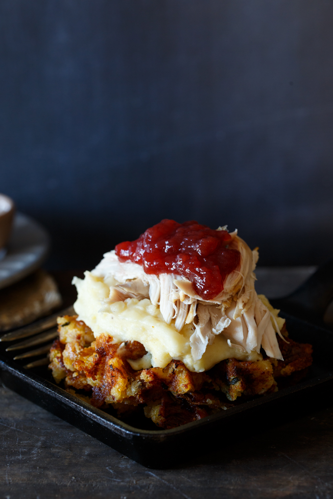leftover-thanksgiving-stuffing-waffle