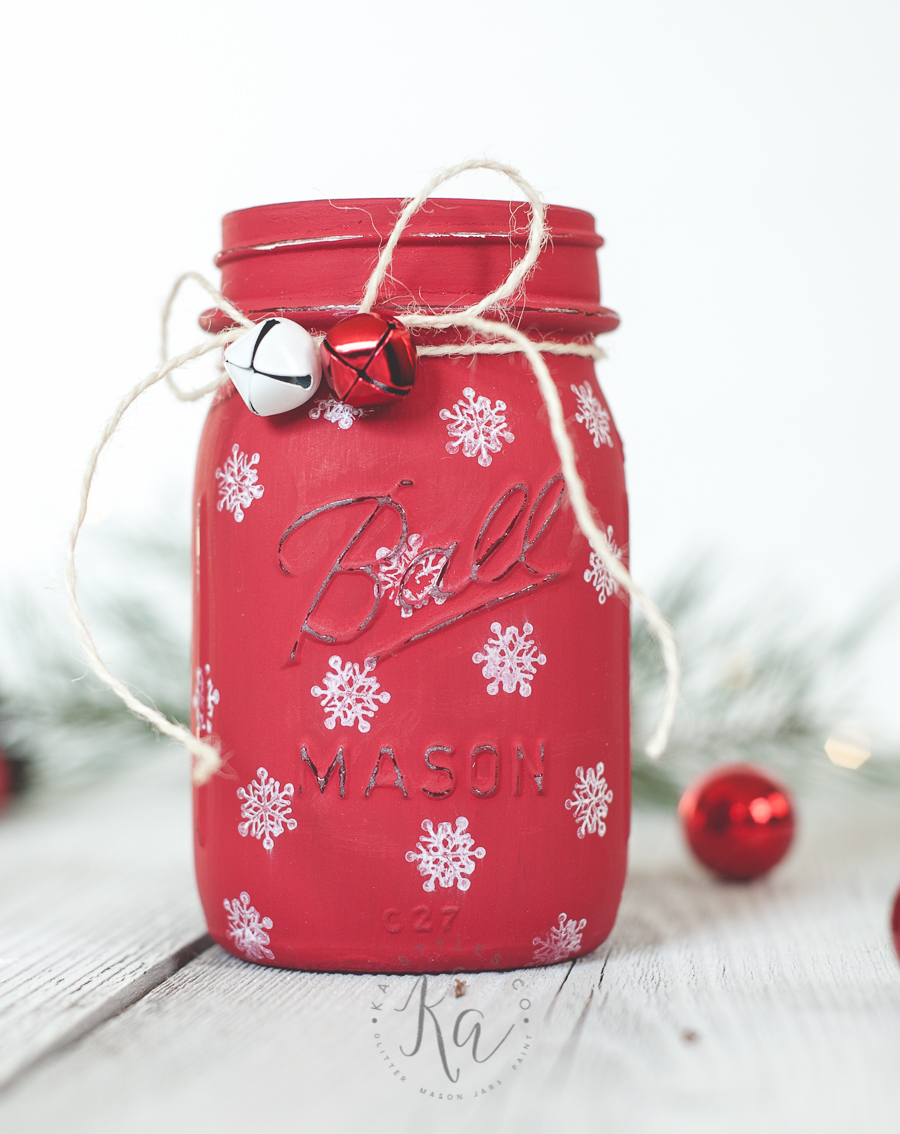 Mason Jar Christmas Decorating Ideas - Clean and Scentsible