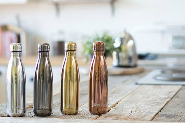 Swell Water Bottles. Easy ways to help reduce the use of plastics.