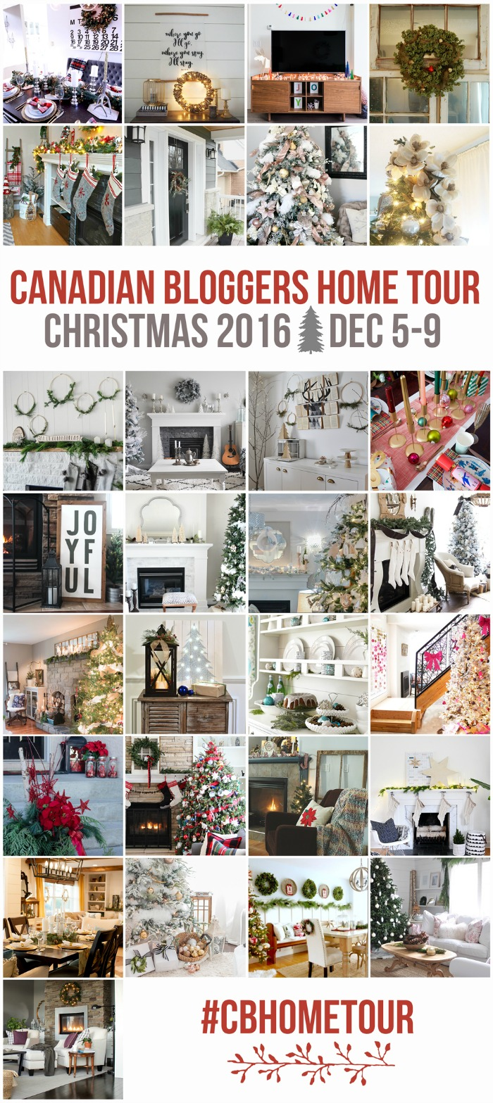 Beautiful collection of the best Christmas home tours from all across Canada!