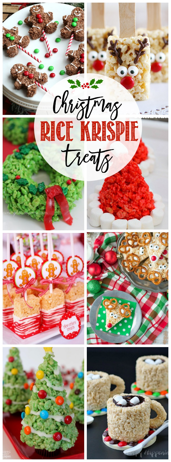 Christmas Rice Krispie Treats - Clean and Scentsible