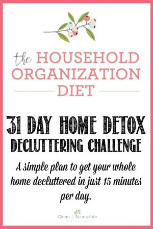 31 Day Home Detox Decluttering Challenge {January HOD}