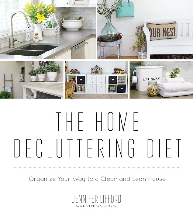 Put your home on a diet! Everything you need to get your home decluttered and organized for good!