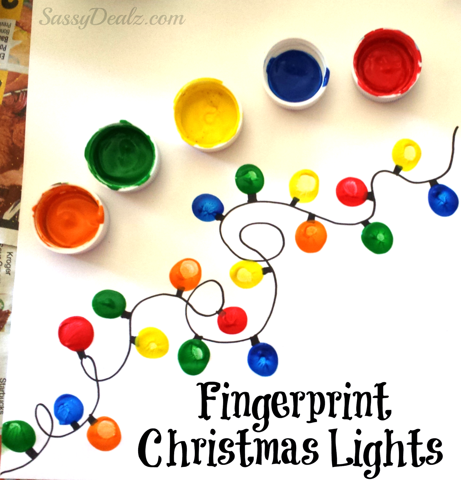 Kids Christmas Crafts - Clean and Scentsible