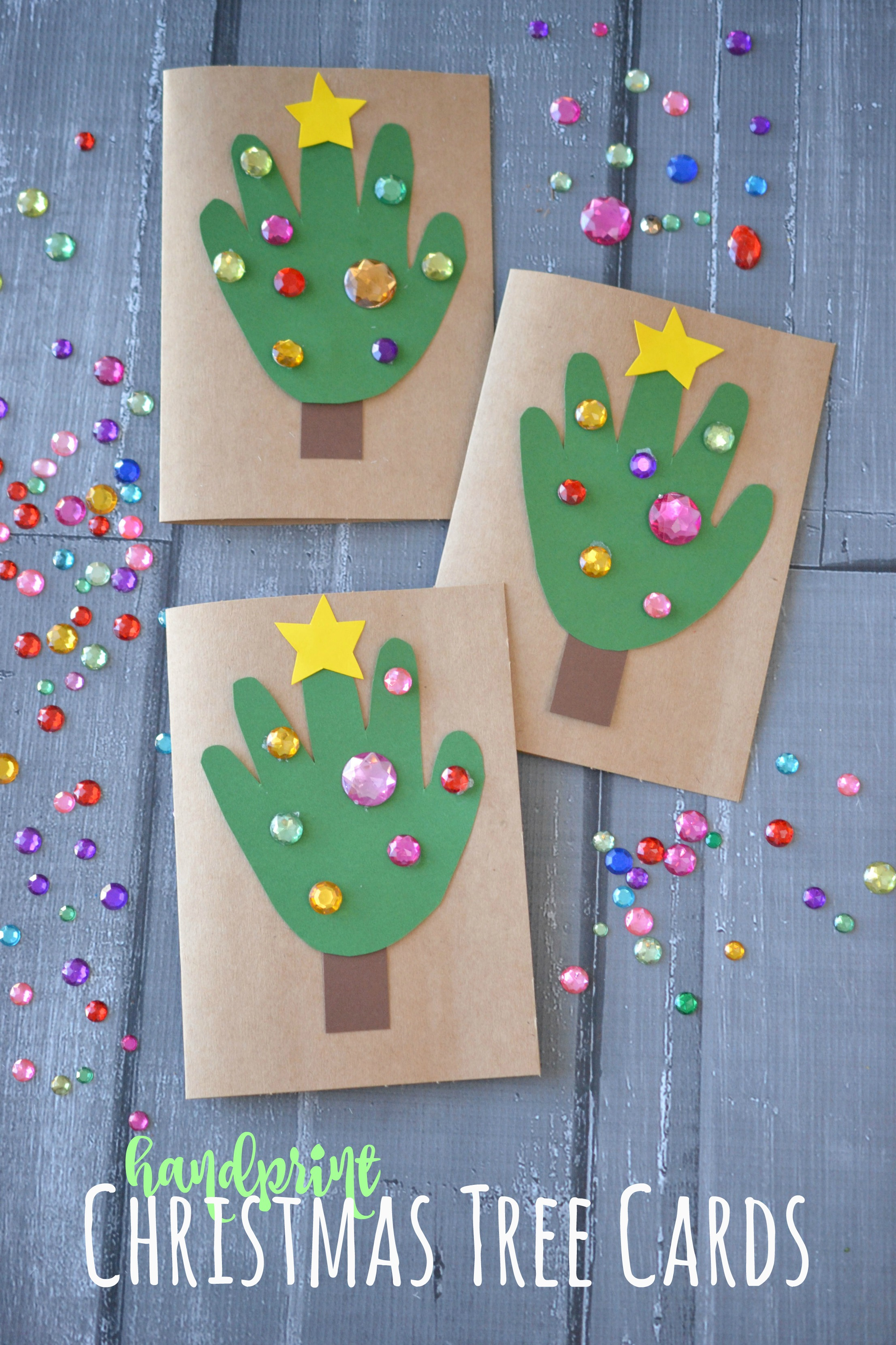 Christmas Cards Arts And Crafts Ideas Part - 21: Fun Christmas Crafts To Do With Kids.