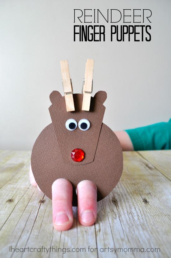 reindeer-finger-puppets