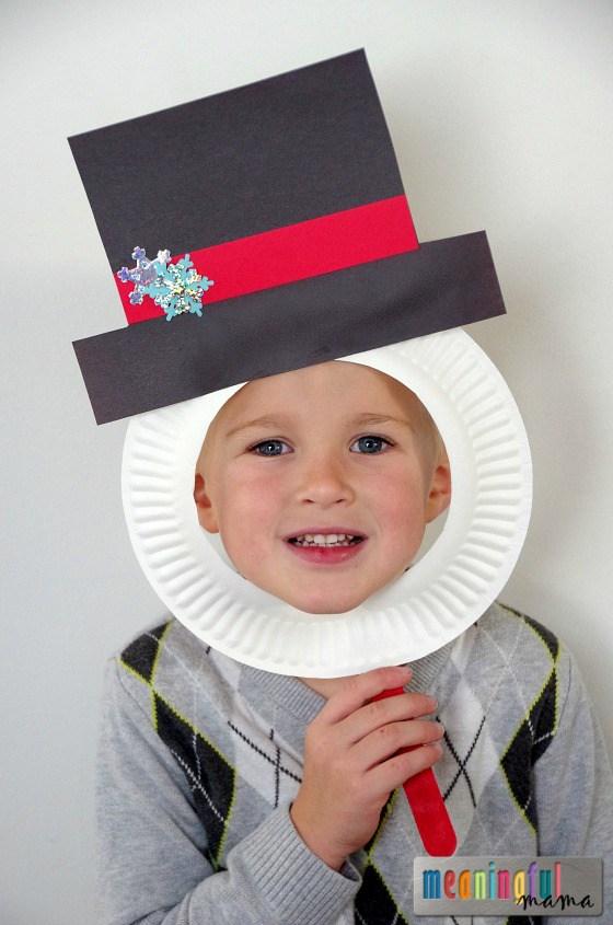 snowman-paper-plate-mask