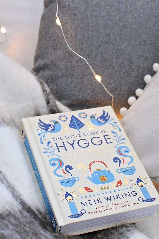 The Little Book of Hygge. Easy read to get started on a hygge lifestyle.
