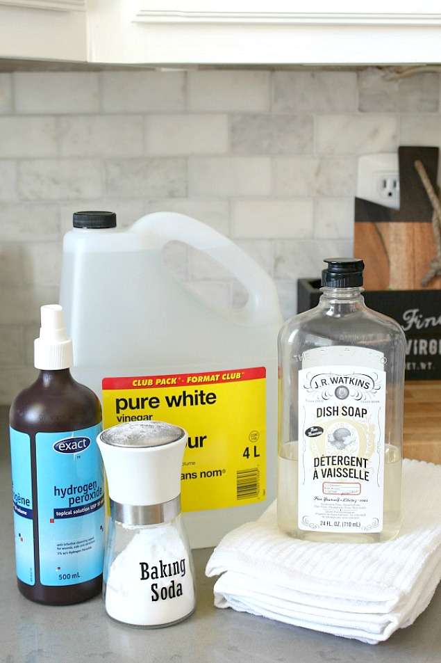 DIY green cleaning carpet cleaner.