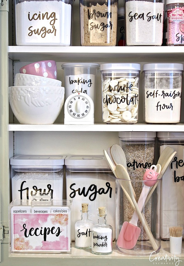 Free Organization Printables Clean And Scentsible: home decor hacks pinterest