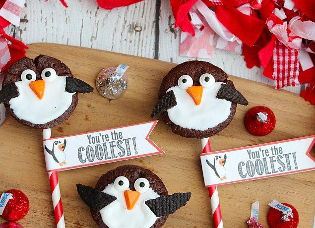 Penguin Valentine's Day Treats