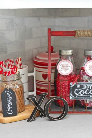 Hot Chocolate Recipes and Valentine's Day Hot Chocolate Bar