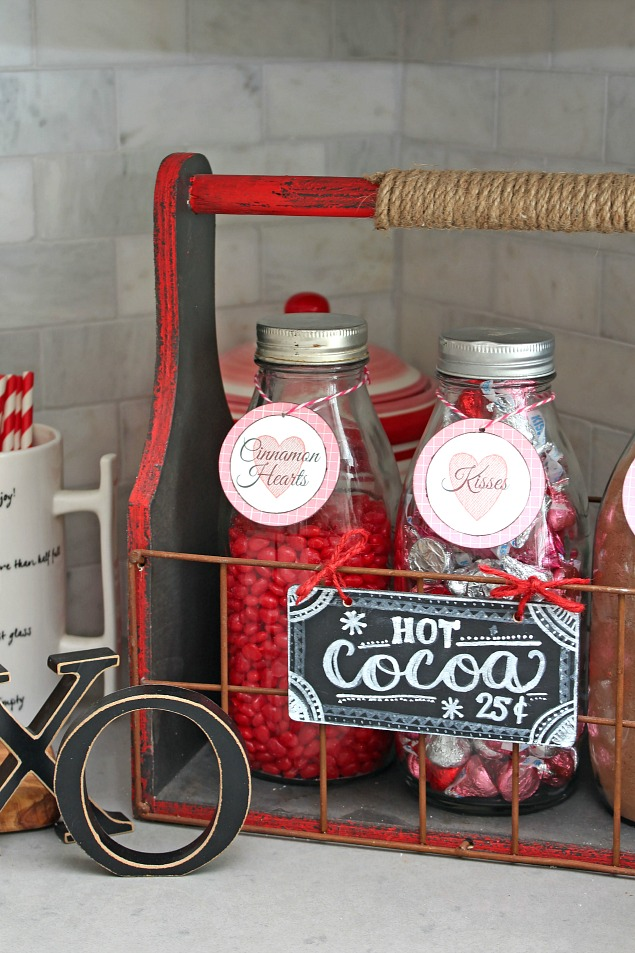 Valentine S Day Hot Chocolate Bar And Delicious Recipes
