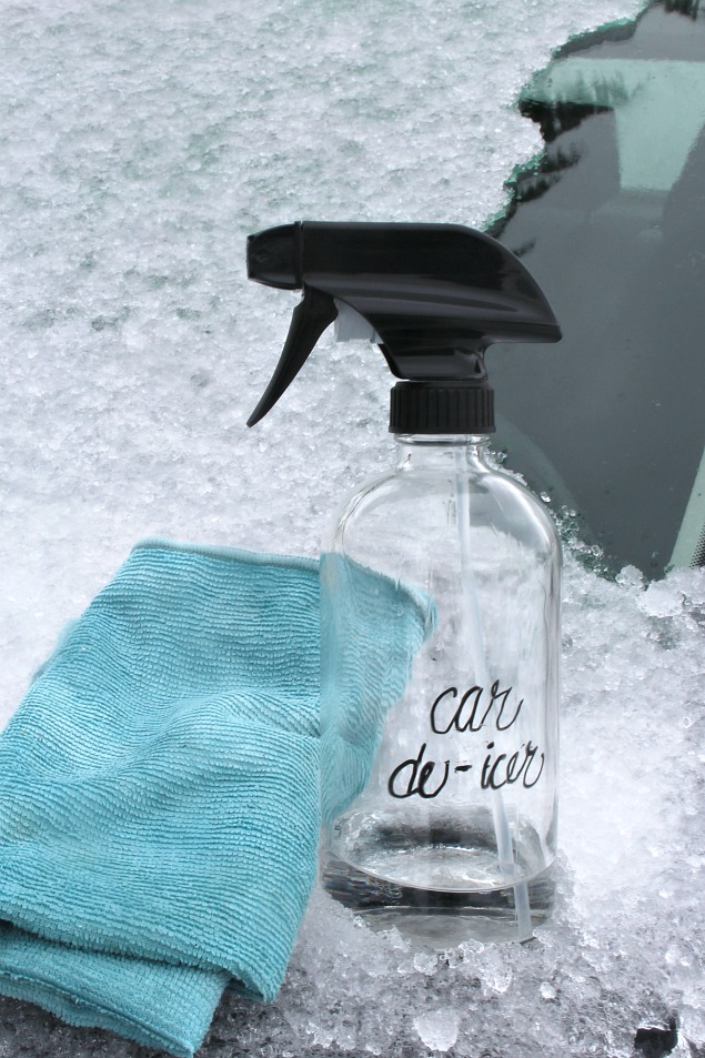DIY Car De-Icer. This simple trick works in no time!