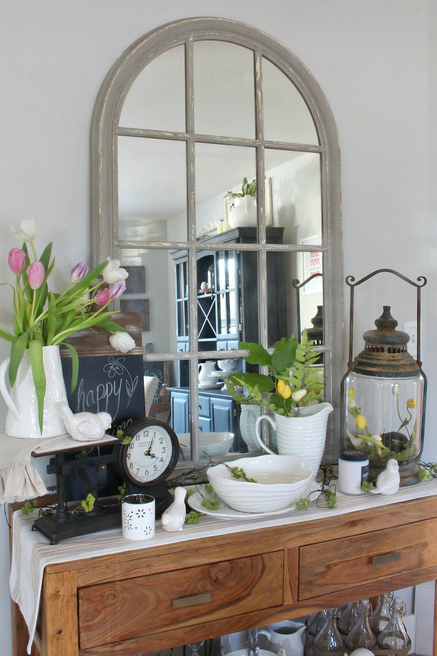 Quick and Easy Spring Decorating Ideas - Clean and Scentsible