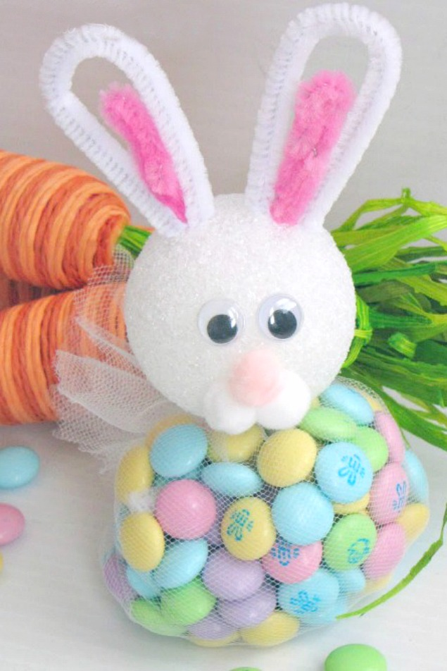 These Easter bunny treats are so adorable! They'd be cute for the Easter Table.