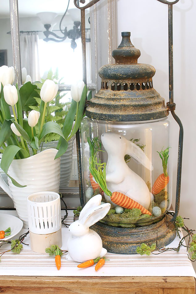 Free Easter printable and Easter decorating ideas.