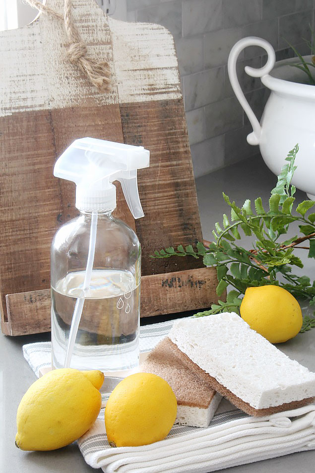 Spring cleaning tips and favorite spring cleaning supplies.