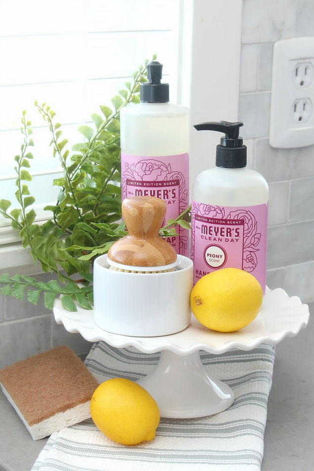 Pretty Kitchen Storage and Spring Cleaning Products - Clean ...
