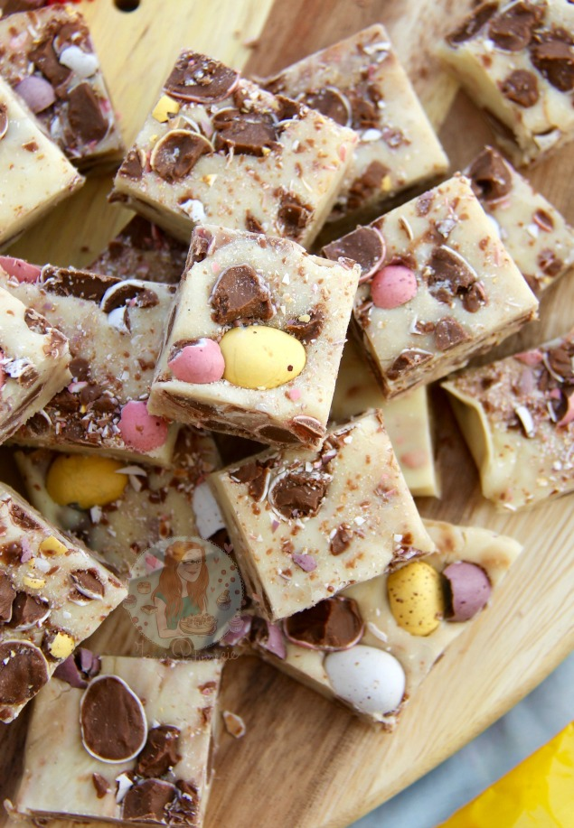 Delicious Cadbury mini-egg dessert recipes for Easter. I can't get enough of these!