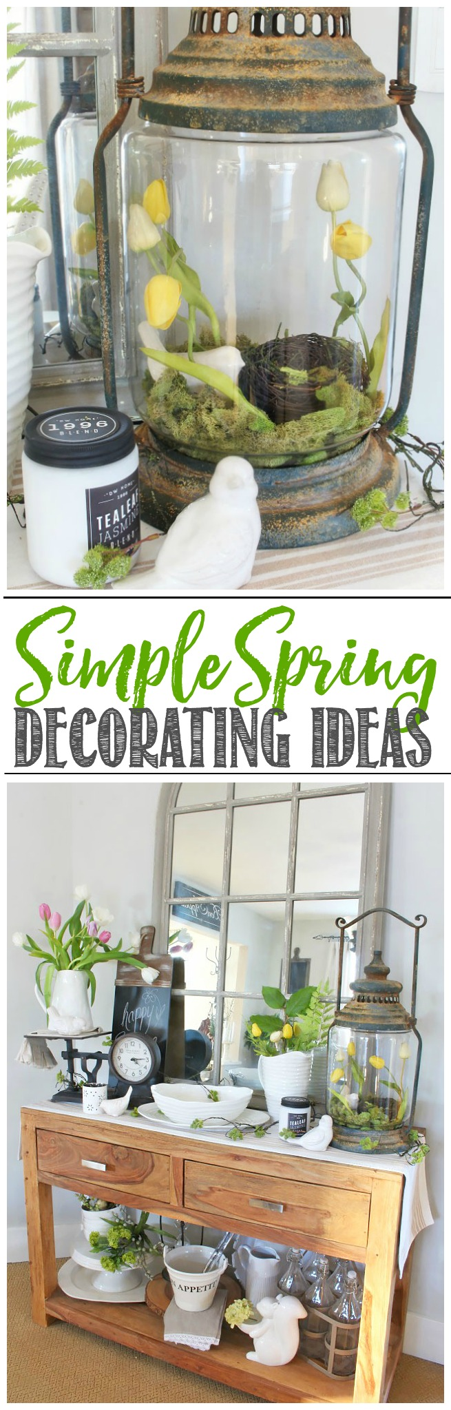 Quick Decorating Ideas quick and easy spring decorating ideas - clean and scentsible