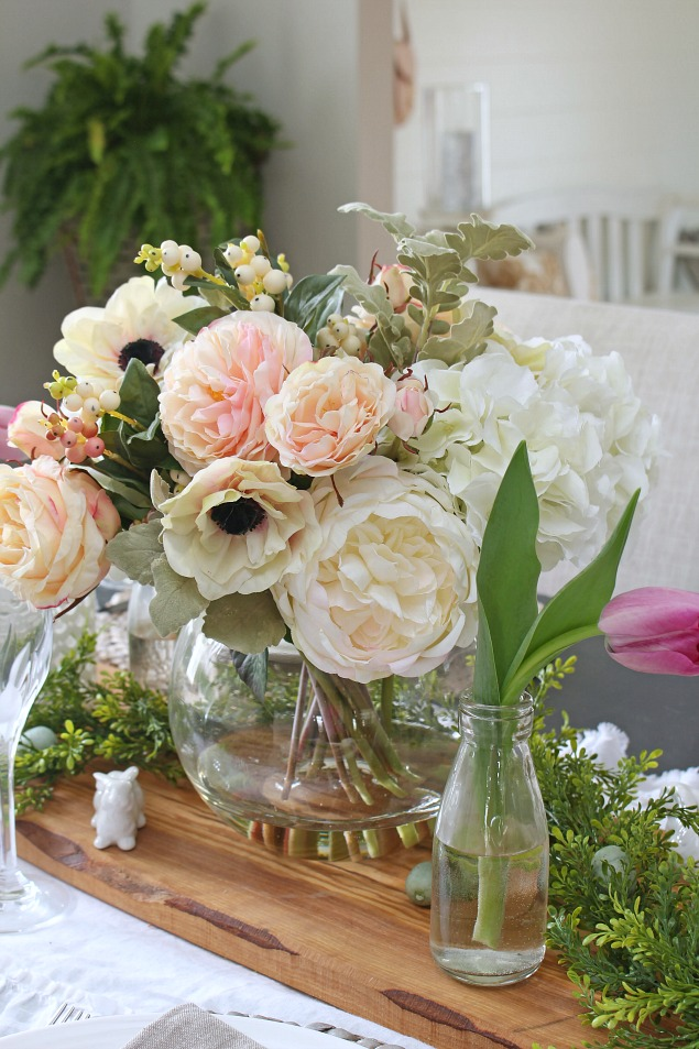 A springtime prelude decorating with faux flowers clean and beautiful spring decorating ideas using faux flowers mightylinksfo