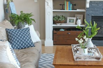 Spring Home Tour – Spring Kitchen and Family Room