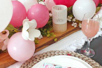 Balloon Centerpiece {Mother's Day}