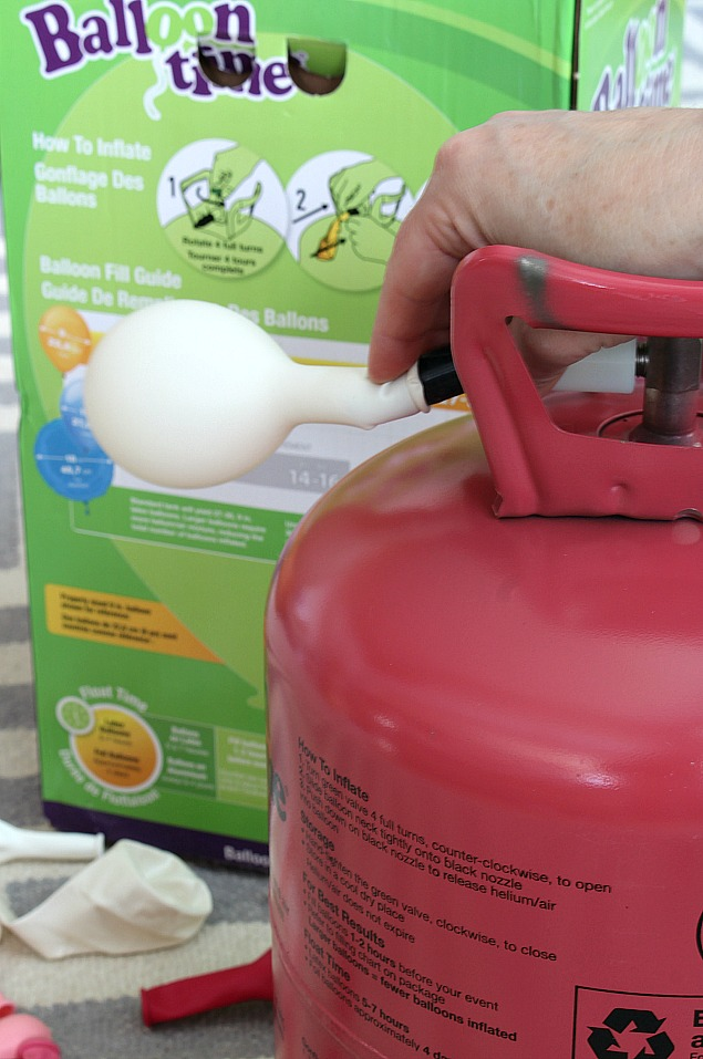 Ballon Time Helium Tank - blow up helium balloons at home quickly and easily. Great for any party or special occasion!