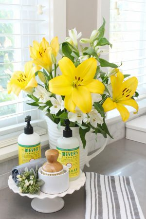 How to Keep Your Counters Clutter-Free {and a Free Gift!}