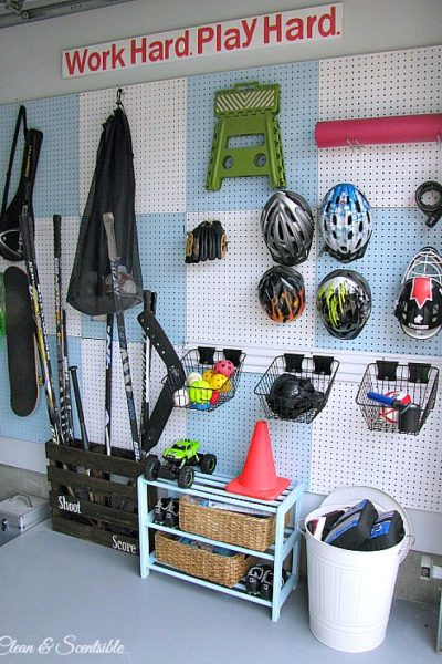 Garage Organization and Cleaning {July HOD}