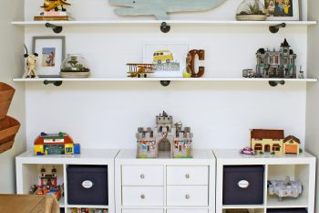 Kids' Bedroom Organization {August HOD}