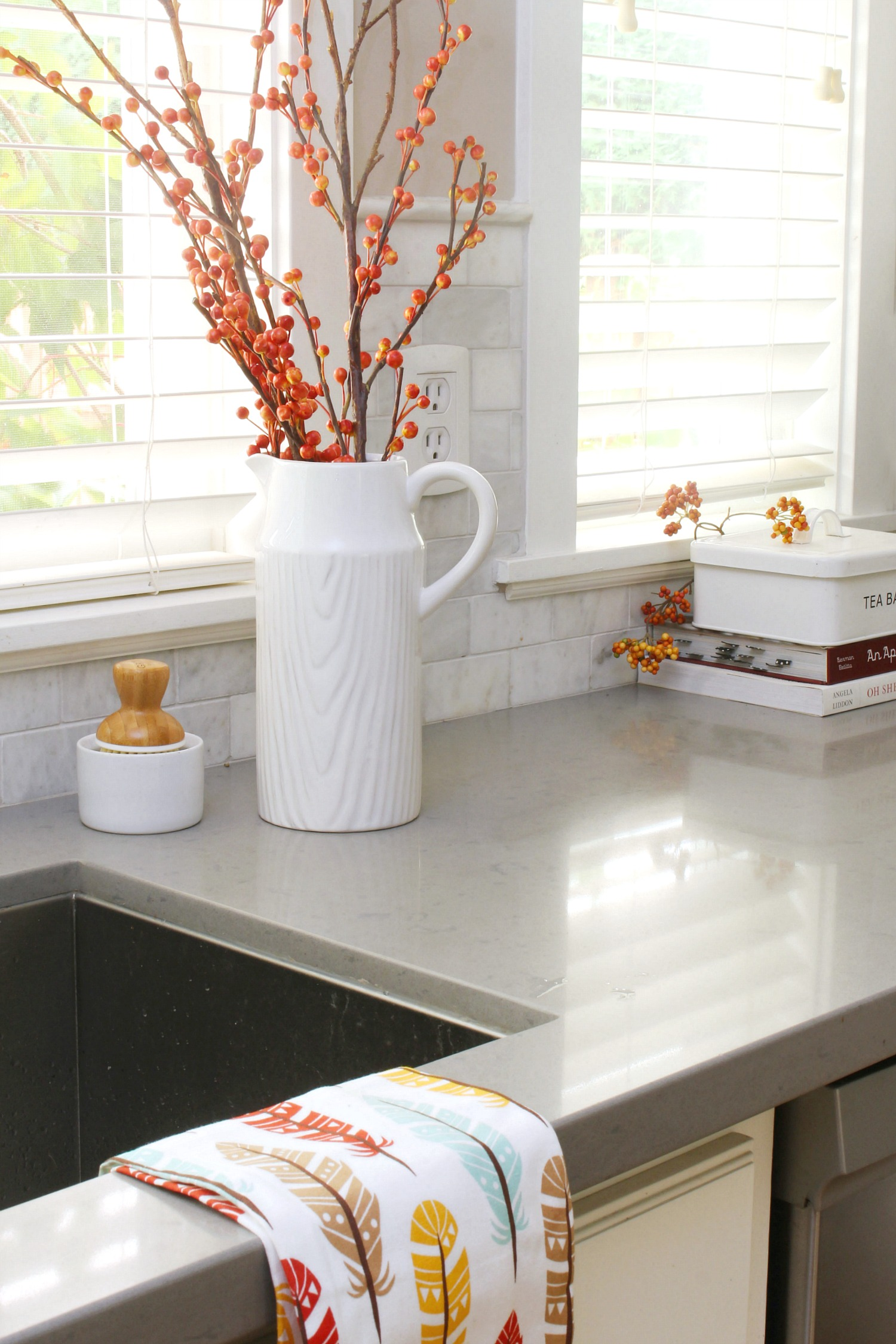 Decorating easy fall kitchen decorating ideas - clean and scentsible