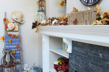Family Room Fall Decorations