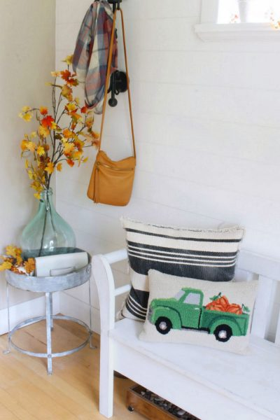Fall Front Entry Decorating Tips